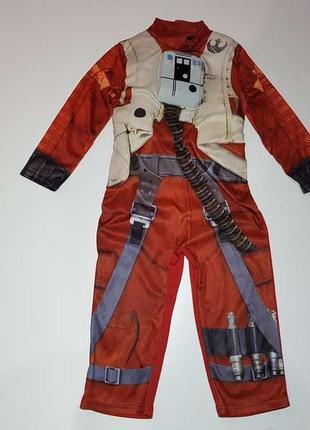 Детский карнавальный костюм star wars, на 3-4 года, как новый!