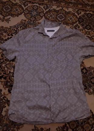 Брендова сорочка рубашка rocha john rocha, оригінал, розмір m.