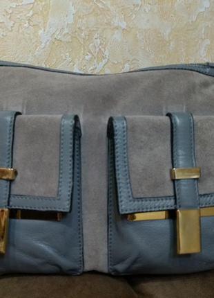 Кожаная сумка с длинной ручкой river island