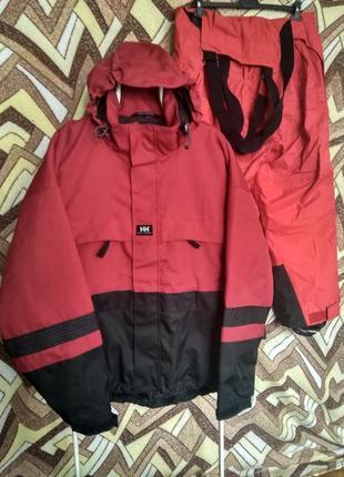 Горнолыжный костюм куртка штаны helly hansen