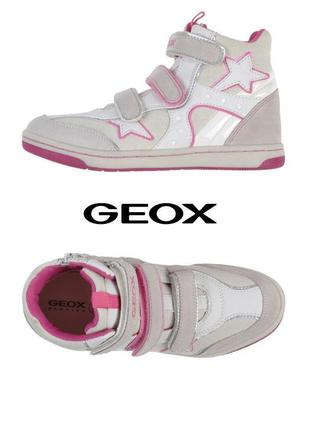 Кроссовки geox 32 хайтопы, сникерсы