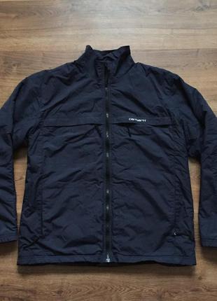 Отличная куртка на флисе carhartt