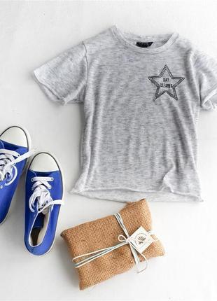 Коротенькая футболка topshop