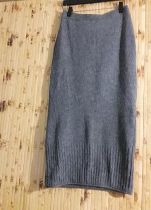 Шерстяная юбка  m&s p.40-44