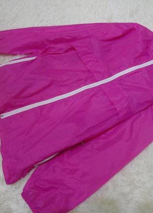 Яркая куртка,ветровка-дождевик