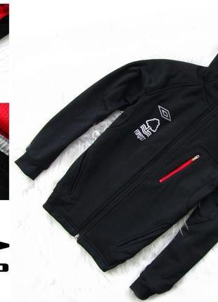 Стильная кофта реглан куртка  с капюшоном umbro