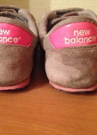 Кроссовки фирменные new balance оригинал р.293