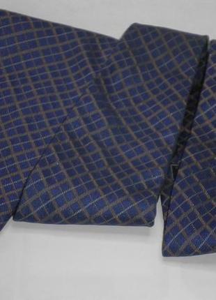 Шикарный модный винтажный галстук оригинал burbery шелк италия