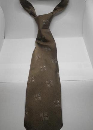 Шикарный модный не маркий галстук оригинал giorgio armani шелк италия