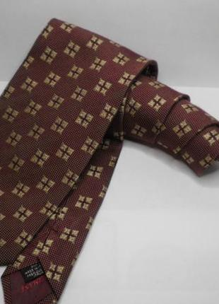 Шикарный модный винтажный галстук оригинал giorgio armani шелк италия