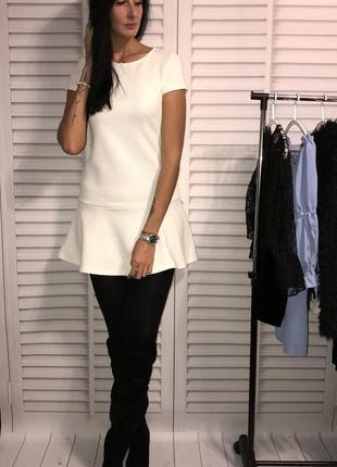 Молочное платье от promod