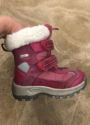 Продам зимние ботинки reima на девочку