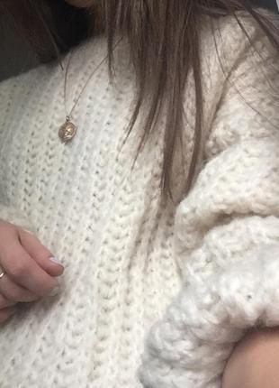 Объемный свитер оверсайз oversize с широкими рукавами новый dilvin