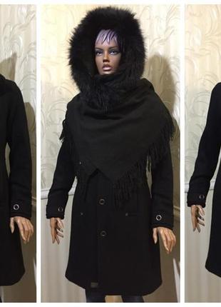 Пальто/captain coat wmn - шерсть, g-star raw (голландия), размер м