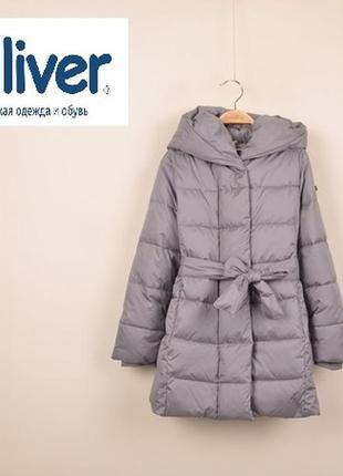 Теплое зимнее пальто пуховик gulliver гулливер