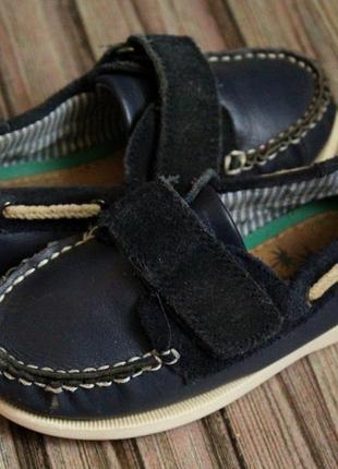 Кожаные туфли next размер 7-23