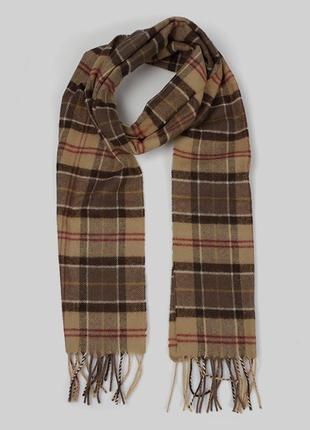 Очень мягкий и красивый шарф от barbour (made in scotland)