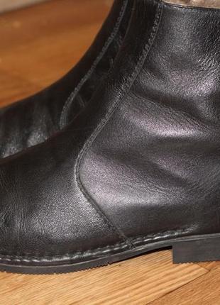 Статусные зимние ботинки на цигейке sioux 43-44