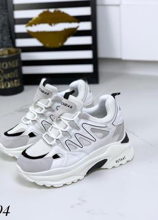 Трендовые кроссовки на платформе. размеры с 36 по 40