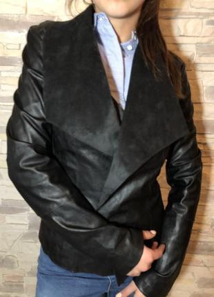 Кожаная куртка tally weijl
