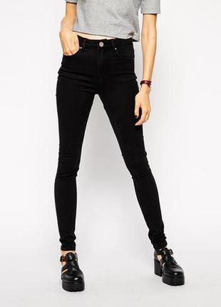 """Скинни """"американка"""" высокая посадка джинсы штаны слим slim skinny"""