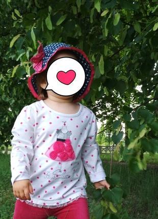 Хлопковая панама / панамка на объем головы 48-50 см3