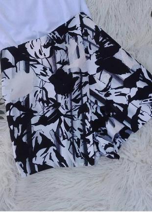 Шорты юбка талия