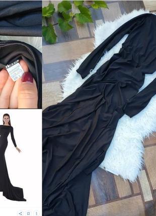 Платье шлейф