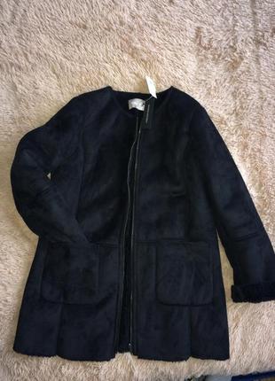На дві сторони пальто/дубленка/шуба із сша