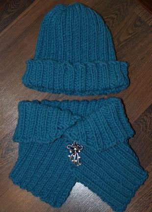 Набор: шапка, манижка (снуд)