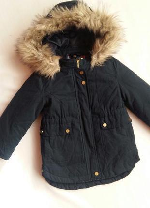 Парка/куртка 3-в-1 kiabi (франция) на 3-4 годика (размер 98-107)