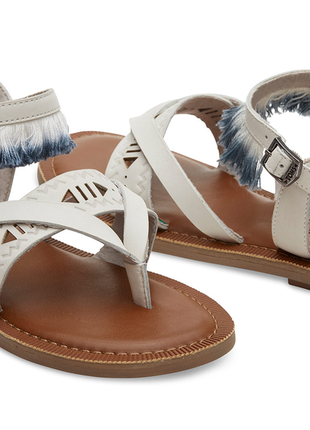 Босоножки toms x & other stories leather fringe lexie sandals