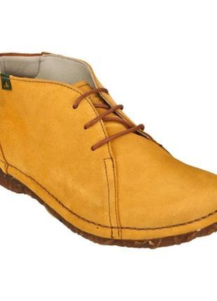 Крутые замшевые туфли ботинки бренда el naturalista
