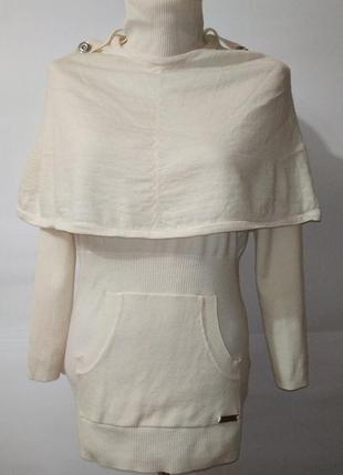 Стильный шерстяной свитер karen millen. uk 10-12 / 38-40 / s-m