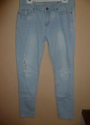 Бойфренды джинсы рванки