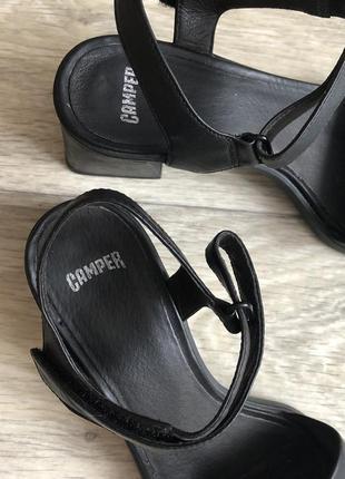 Босоножки на толстом каблуке натуральная кожа 39р3