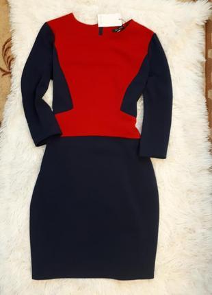 Van girls/контрастное платье миди р. m-l с бирками