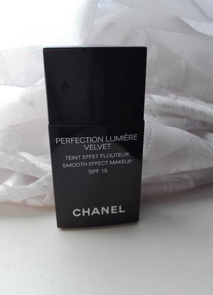 Тональный крем с эффектом сияния chanel perfection lumiere velvet smooth-effect spf15