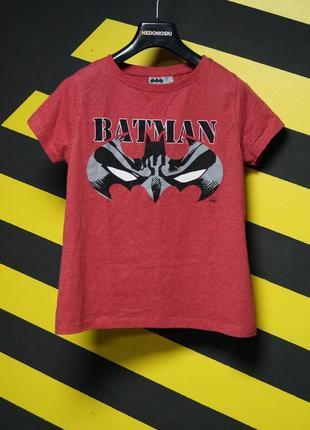 Футболка с логотипом бэтмена (batman)