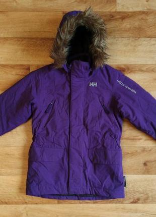 Дитяча зимова куртка helly hansen ( норвегія).