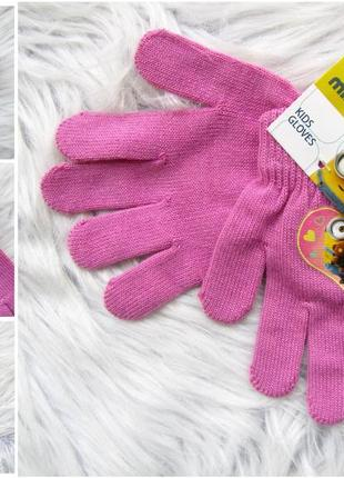 Стильные варежки перчатки рукавицы minions