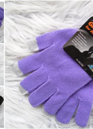 Стильные варежки перчатки рукавицы с возможностью использования тач скрина