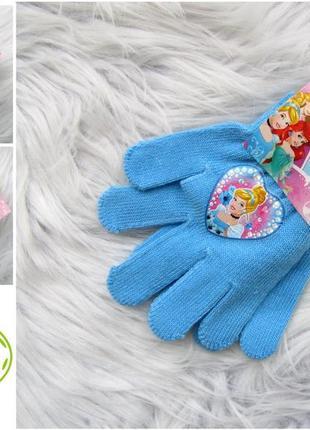 Стильные варежки перчатки рукавицы disney princes