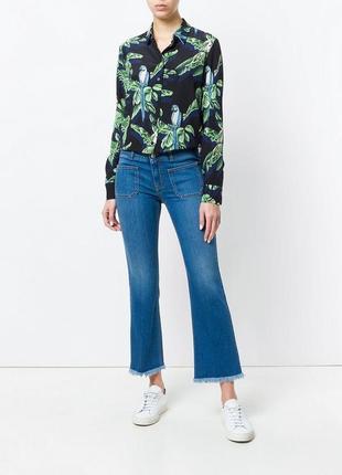 Расклешенные джинсы скинни с распущенным низом (flared skinny kick jeans)