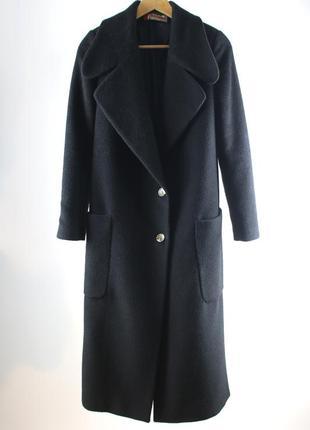 Черное длинное пальто dolcedonna (украинский бренд) s