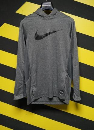 Реглан с капюшоном для занятий спортом dry hoodie elite