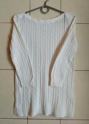 Белоснежный свитер gap 8-10p