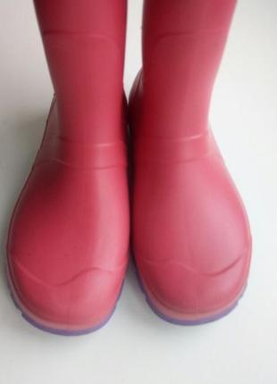 Детские резиновые сапоги для девочки. красивые5