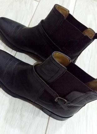 Классные кожаные ботинки челси melvin & hamilton ❤ 40 -41 размер
