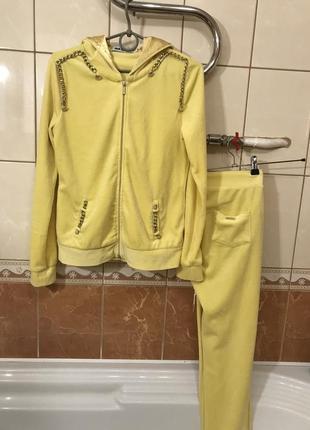 Прогулочный костюм спортивный костюм бархатный велюровый